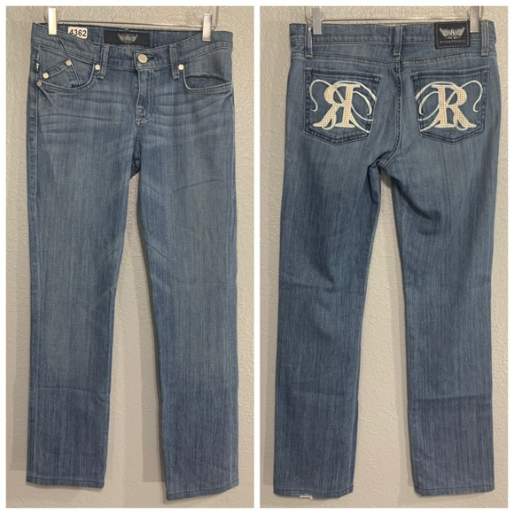 Rock & Republic Denim - Rock & Republic | Embellished Boot Cut Jeans 26